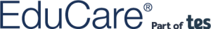 EduCare Logo Part of Tes Linear 01 (Midnight Blue)